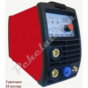 TIG200 DC Pulse комплект с шланг N-SR26 -4m и кабел маса