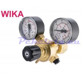 Редуцир вентил за аргон и въгледвуокис Ar/CO2 MINI OXYTURBO с часовници WIKA - Италия