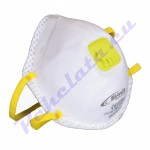 Маска за дихателна защита клас FFP2V с клапан
