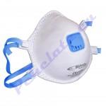 Маска за дихателна защита клас FFP3 с клапан